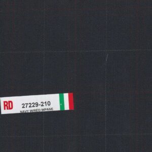 RD 27229-210 Navy With Red Wpane