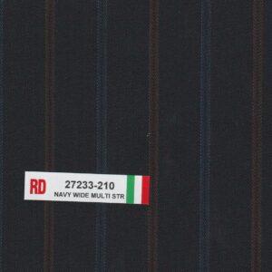 RD 27233-210 Navy Wide Multi Stripe