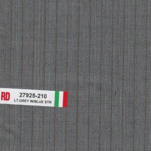 RD 27925-210 Light Grey With Blue Stripe