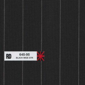 RD 645-95 Black Wide Stripe