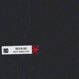 RD 8519-95 Navy With Red Stripe
